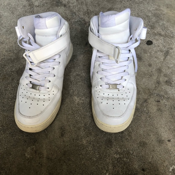 Nike Shoes | Air Force One Mid 07 White